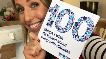 100 things – top tips for living with diabetes
