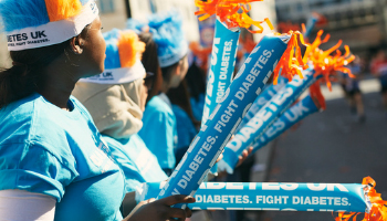 volunteer for Diabetes UK