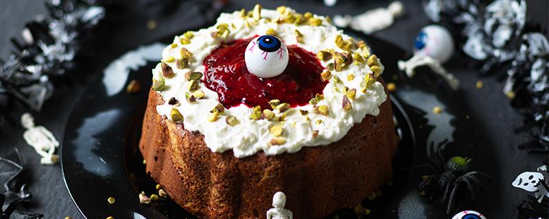 Diabetic Sponge Cake Recipes Uk: Bleeding Heart Halloween Cake