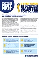 Putting feet first: six step guide to improving diabetes footcare