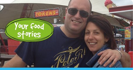 Your food stories - Tash & Richard