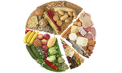 A Healthy Diet Combines All Of The Food Groups In Various Proportions