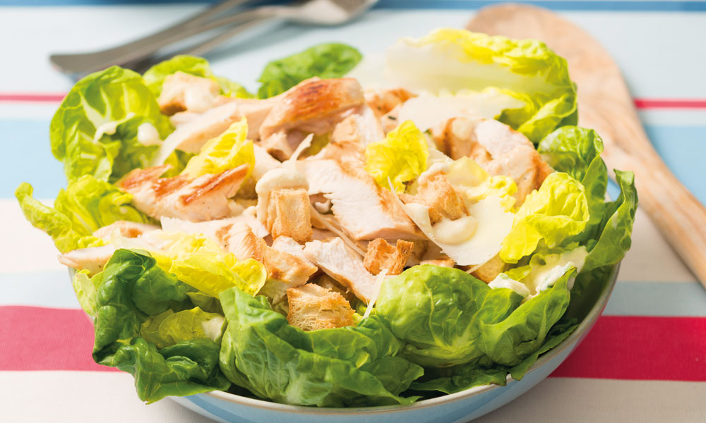 Caesar salad with chargrilled chicken   Diabetes UK