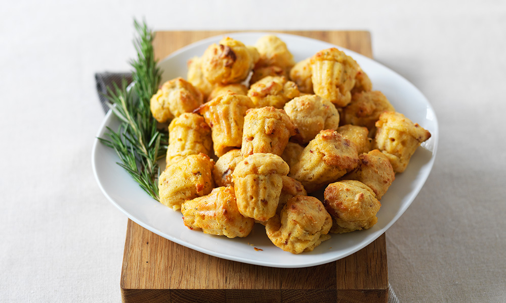 Recipe finder enjoy food diabetes uk bacon rosemary and corn mini muffins forumfinder Image collections