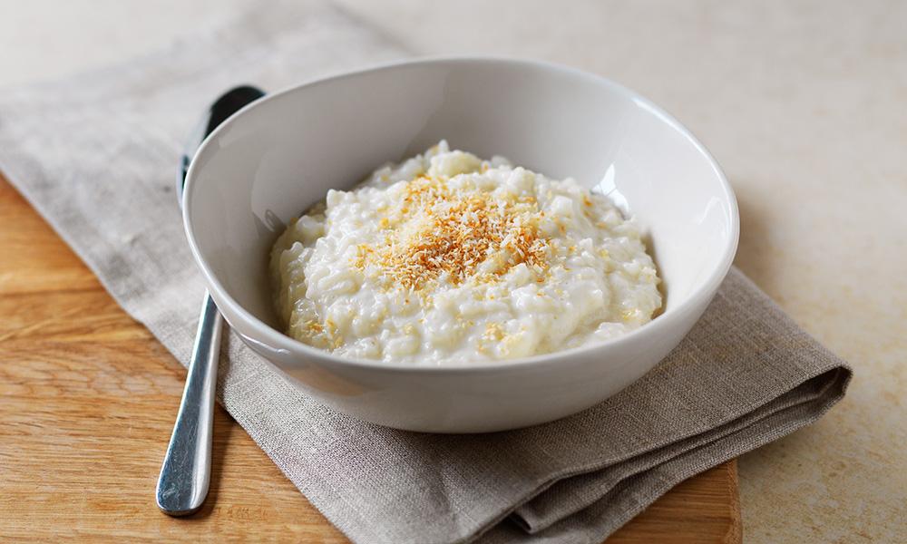 Coconut rice pudding | Diabetes UK
