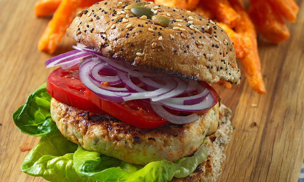 Turkey burger | Diabetes UK