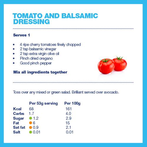 Salad dressings   Diabetes UK