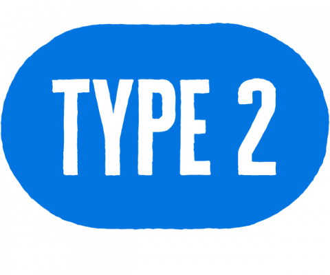 type two icon
