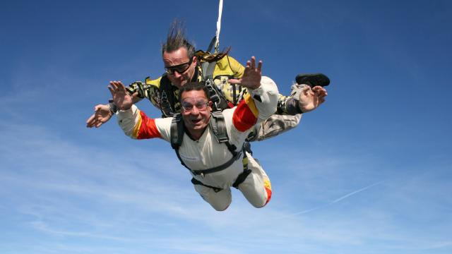 Could you be tempted to skydive?