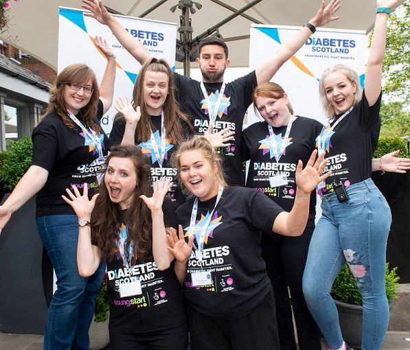 Diabetes Scotland Young Leaders