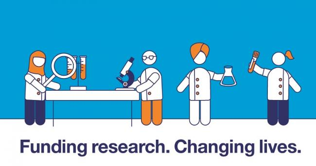 Funding research. Changing lives.