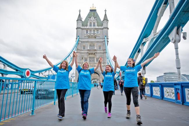 London bridges walkers