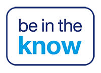 Be in the know logo